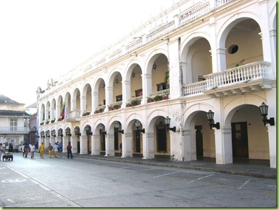 Balcones de la Gobernacion