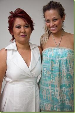 Lizi Nagakura e Tayomara Gomes