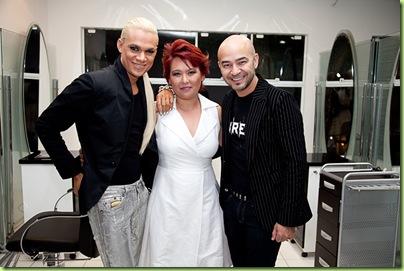 Ricardo Guerra, Lizi Nagakura e Beto Bravo