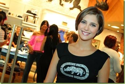 Tammy di Calafiori na inauguração da Ecko no Shop. Vitória.