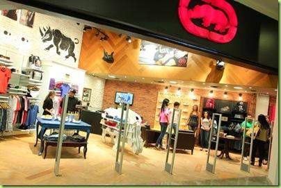 Fachada da loja Ecko_ Shopping Vitoria