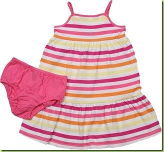 Vestido Gap Listras Claras