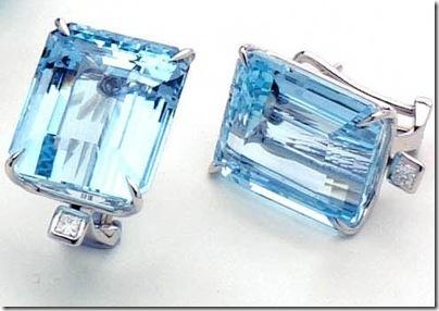 virtuose aquamarine earrings