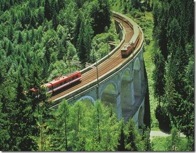 Trem na Áustria