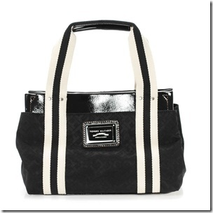 Bolsa preto e branco Tommy Hilfiger para Passarela - R$ 299,99