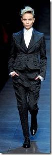 SMI - Preview Inverno 2012 - Tema Androginia - Desfile Dolce&Gabbana