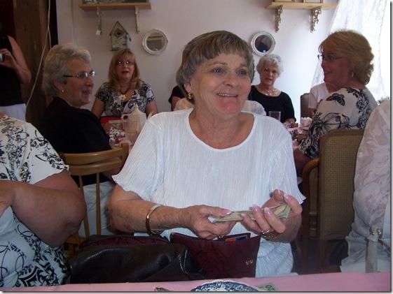 Margaret is 70