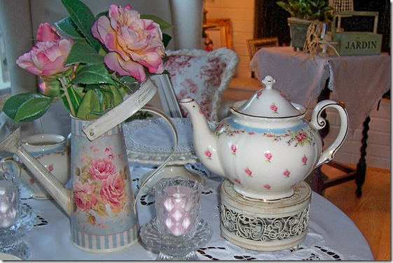 teapot and watering can
