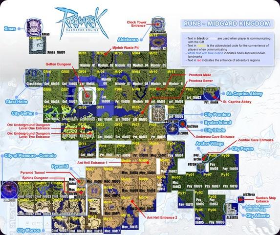 ragnarok map rune midgard complete best
