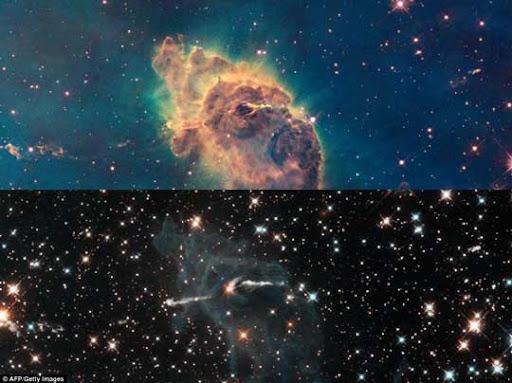 Infosekejap spot melihat keindahan luar angkasa lewat