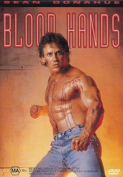 Blood hands poster