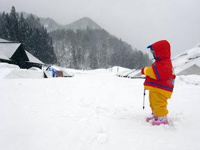 雪の昭和村