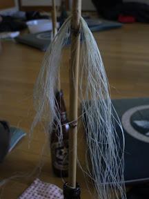 裂いた糸はオサキボウへ