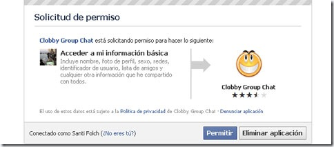 Agregar Clobby Group Chat: confirmamos la operacin