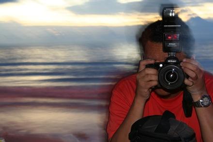Shamani dengan Nikon D90