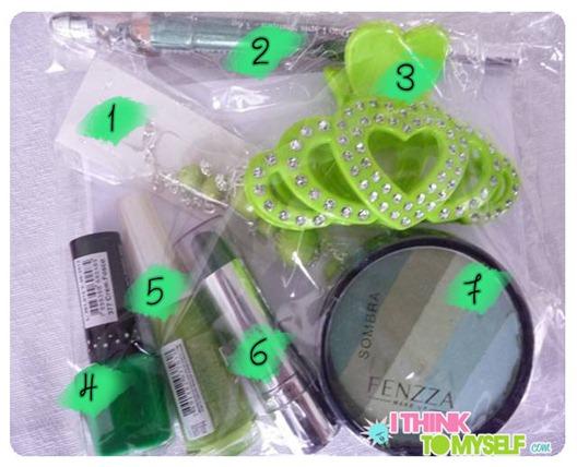 verde sorteio