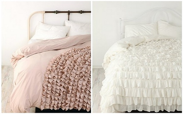 Urban Outfitters Ruffled Bed Covers