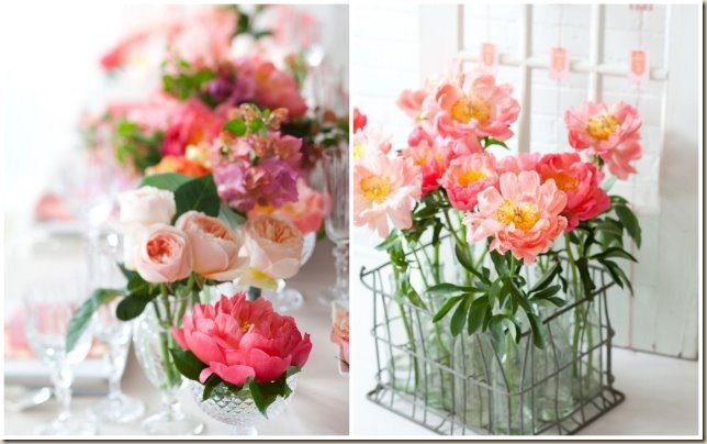 Coral Charm Peony Party Inspiration