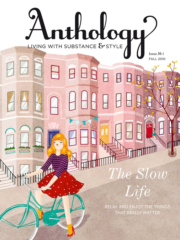 Anthology Magazine Cover