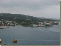 Roatan - another ship in distance (Small)