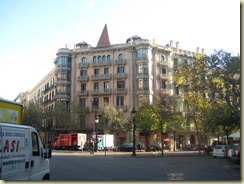 Mallorca and Las Ramblas Architecture