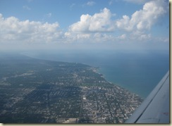 Final Approach over Evanston
