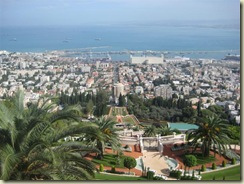 Haifa and Bahai Gardens (Small)