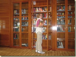 E in Library (Small)