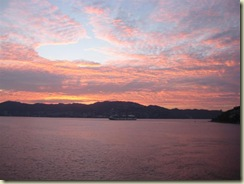 Acapulco Sunrise and Oosterdam (Small)