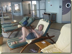 E Relaxing in the Solarium (Small)