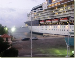 Infinity docked in Colon Panama (Small)