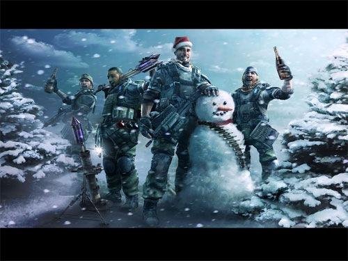 bad wallpaper. Bad Boys Christmas Wallpaper