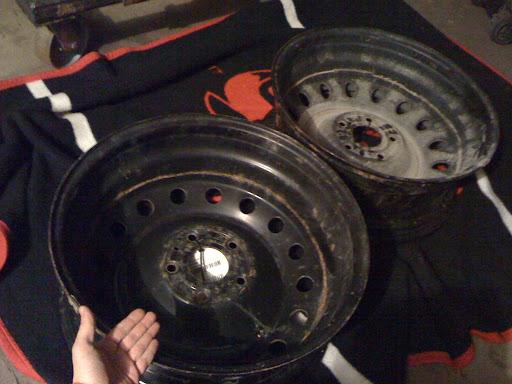 20 Inch Dodge Spare Rim