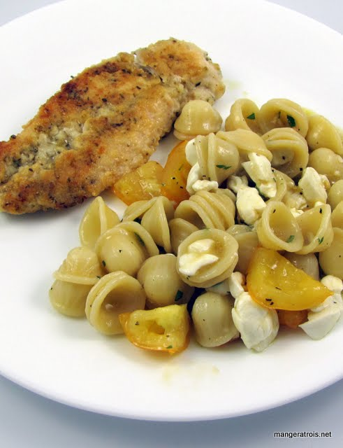 Orecchiette with stuff