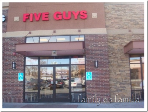 five guys sandy