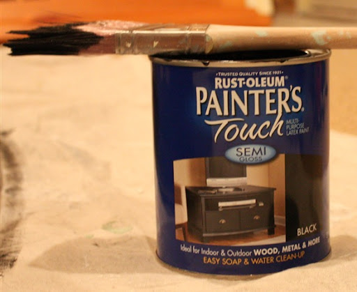 How to thin paint semi gloss