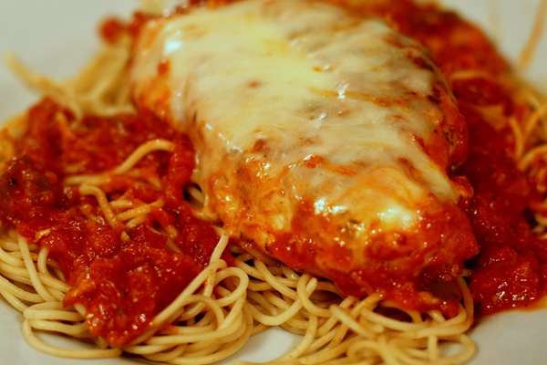 Sabby In Suburbia: Skillet Chicken Parmesan