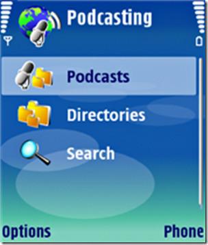使用Symbian S60的Podcast功能