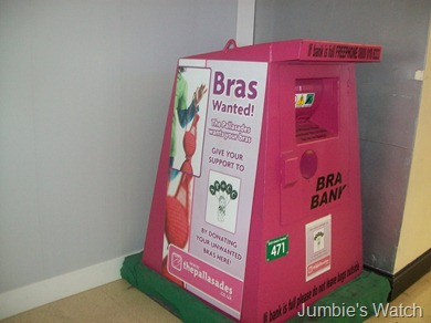 Bras wanted