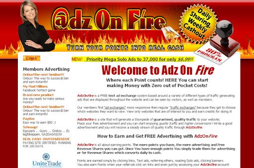 Adz On Fire money