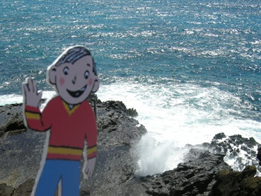 Stanley at Blowhole