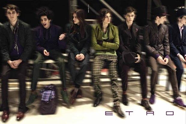 ETRO Fall Winter 2010.11 Campaign 01