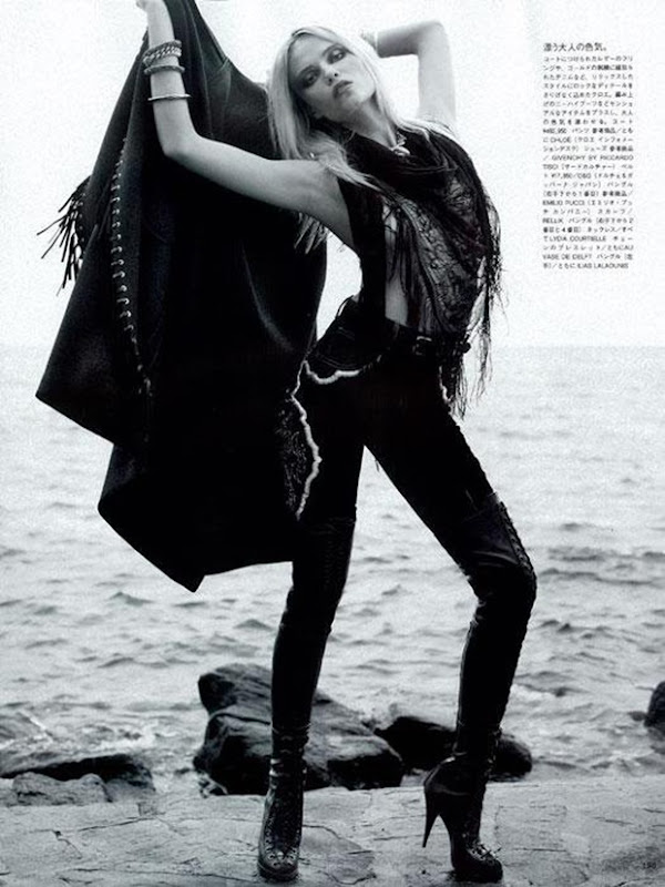 Natasha Poly by Karl Lagerfeld for Vogue Nippon Sept 2010