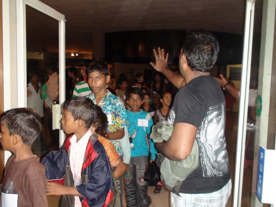 At Nehru Planetarium