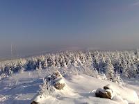 Blick von der Wolfswarte Richtung Brocken