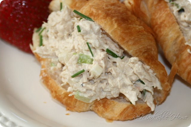 Seriously the BEST Chicken Salad Sandwiches Ever! {ReMarkableHome.net}