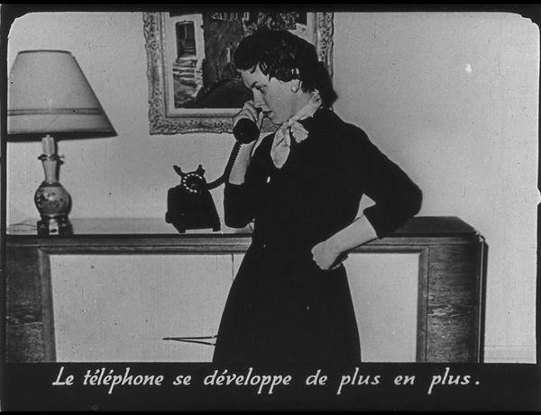 Films fixes et publicités de quartier (educational filmstrips) sur www.filmfix.fr : La maison moderne