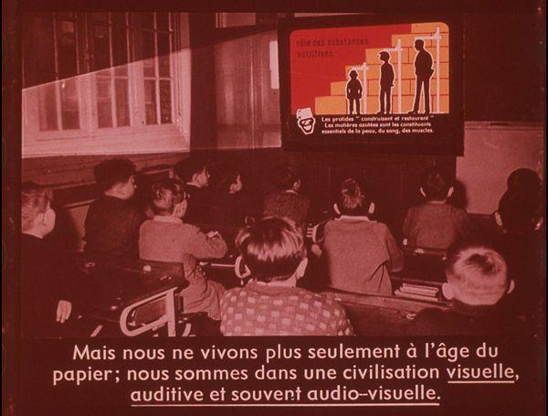 Films fixes et publicités de quartier (educational filmstrips) sur www.filmfix.fr : La publicité