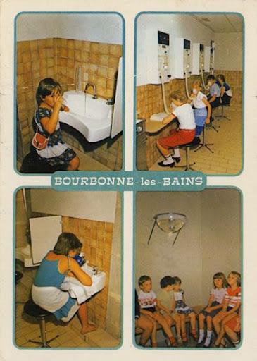 Cartes Postales Pop et  Kitsch des années 50, 70 et 70 Spa Thalassothérapie