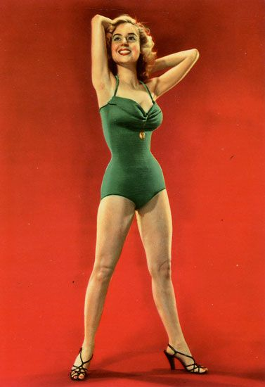 Cartes Postales Pop et  Kitsch des années 50, 70 et 70 Babes on the beach / En maillot de bain